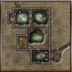 Shards of Sin - Natalyas Hideout - Ground Floor WithTunnels