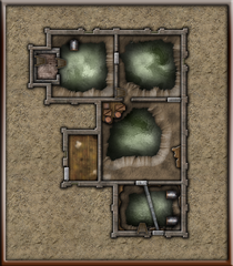 Shards of Sin - Natalyas Hideout - Ground Floor Without Tunnels