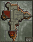 Scarwall FirstFloor - Key Map