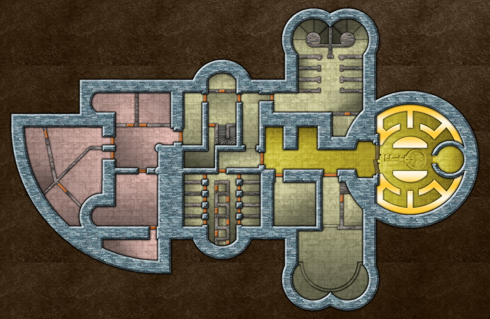 CotCT - Abadar Temple - Dungeon