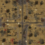 24x24 wasteland crossroad