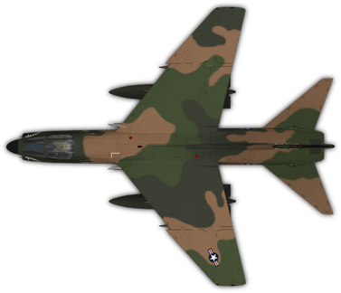 A7D Corsair II (SEA)