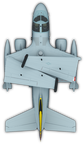 ES3A Shadow, wings folded