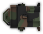 LAV-AT Turret fire position