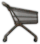 Rusted Shopping Cart