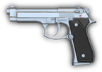 Beretta Model 96 9mm Pistol