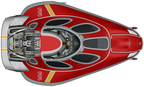 Stinger, Red, Cockpit up